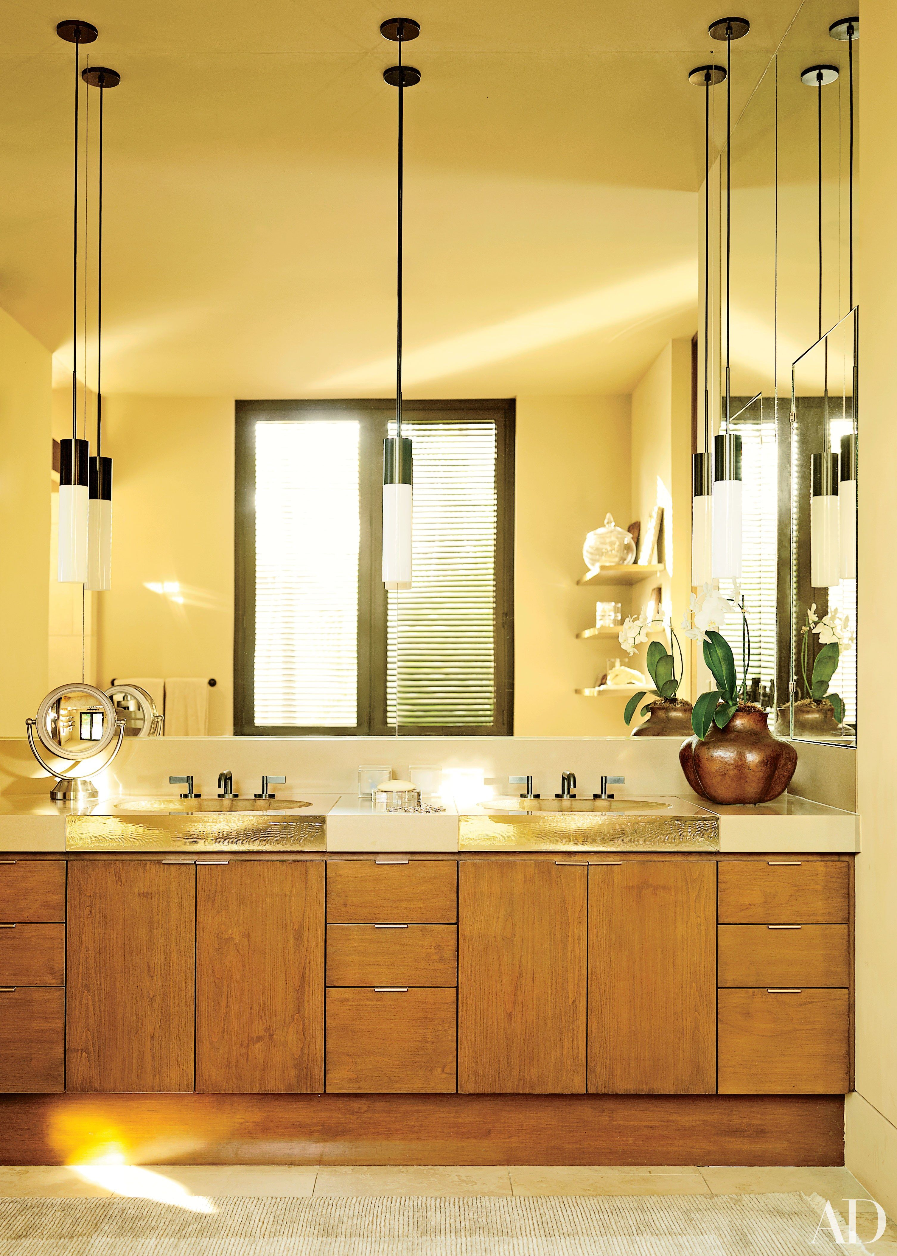 24 Great Ideas For His And Her Bathroom Sinks Vanity Design Bathroom Vanity Designs Bathroom Mirror Design