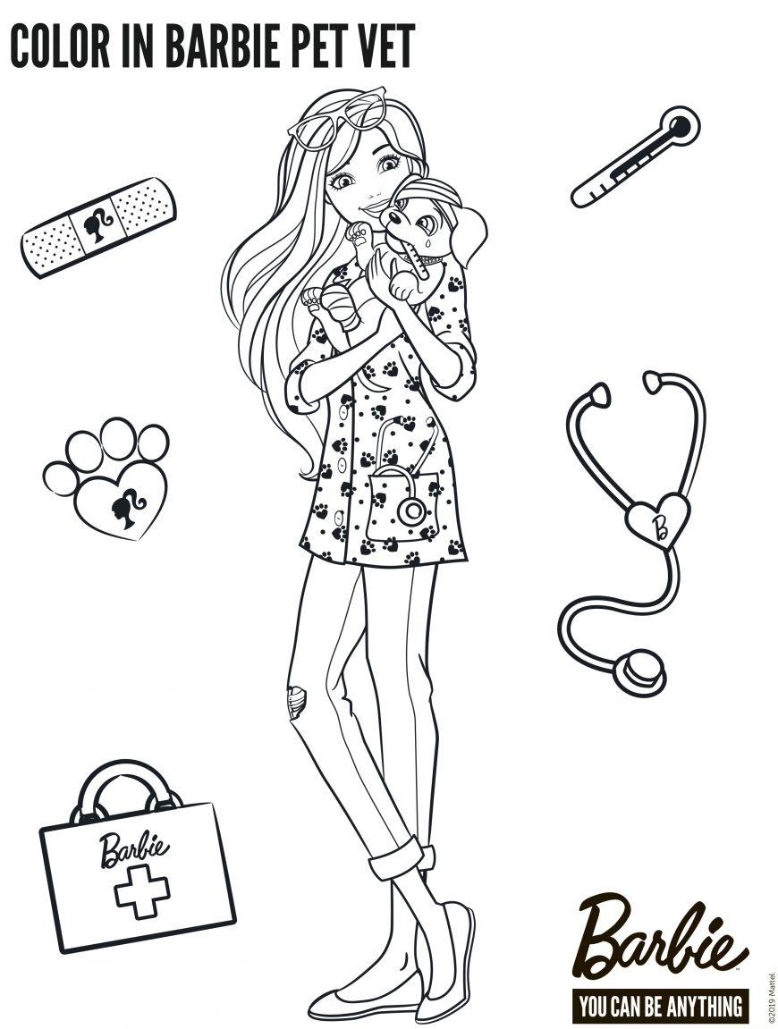 Coloring Barbie Dreamhouse Adventures in 2020 | Barbie ...