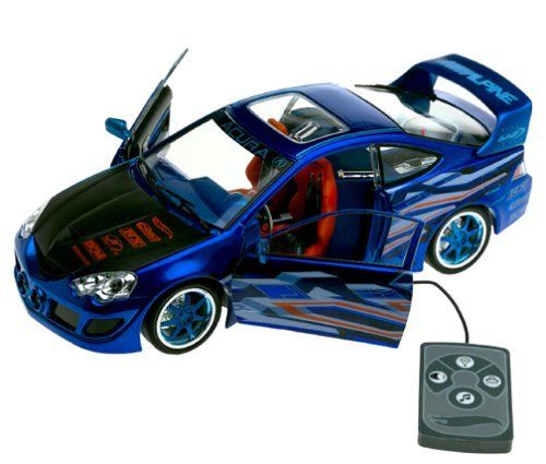 Dave White Acura Used Cars: Hot Wheels Acura RSX Tuners XXL 1/18 Diecast With MP3 By