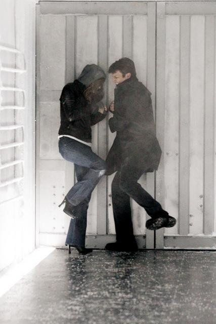 Nathan Fillion and Stana Katic in Castle - Countdown