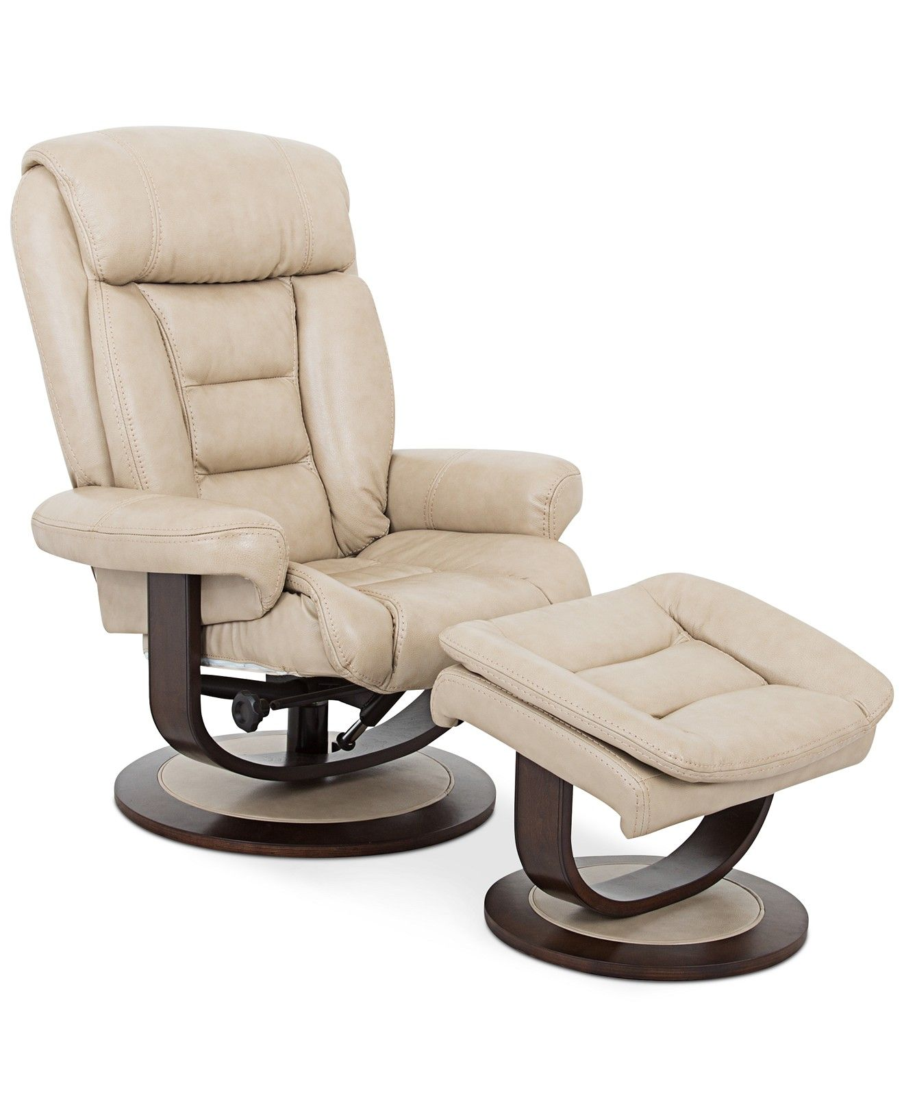 Best Eve Leather Recliner With Ottoman Furniture Macy S 400 x 300