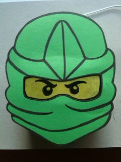 Das Creativchen Ninjago Laterne Nummer 2 Anleitung Laterne Basteln Vorlagen Laternen Basteln Laterne Basteln Anleitung