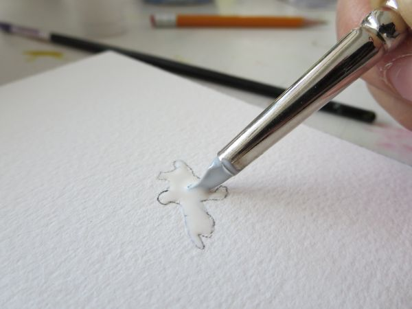 how to use watercolor paper