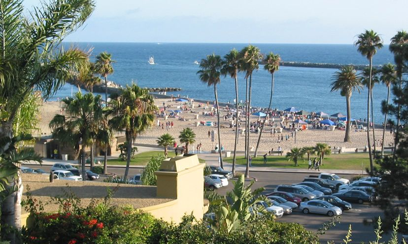 The Beach At Corona In Del Mar Newport California