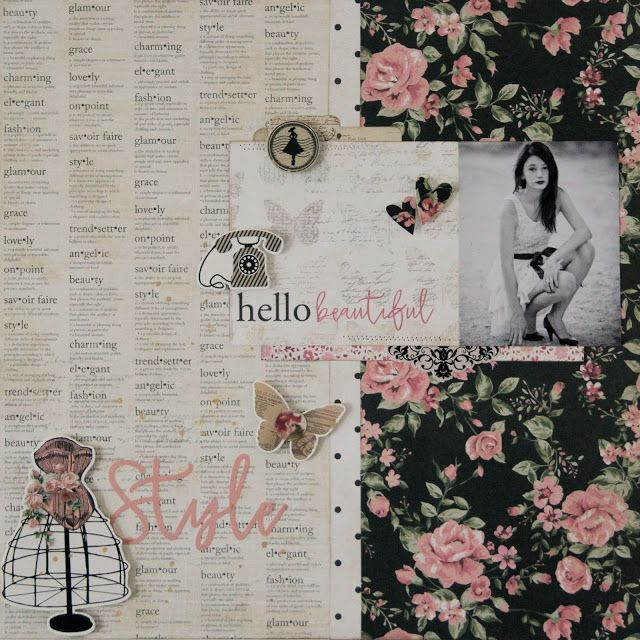 All About Scrapbooks Photo Play Belle Vie Hello Beautiful And