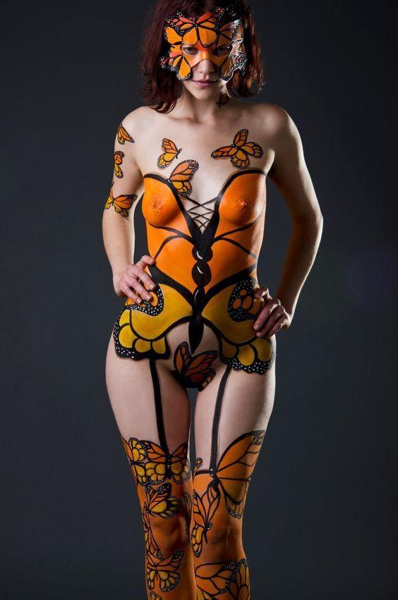 Body painting girls sex