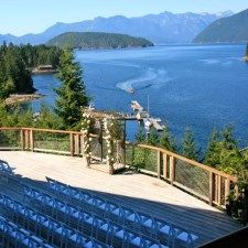 British Columbia Wedding Venues Locations In Egmont Canada Small And Unique West Coast