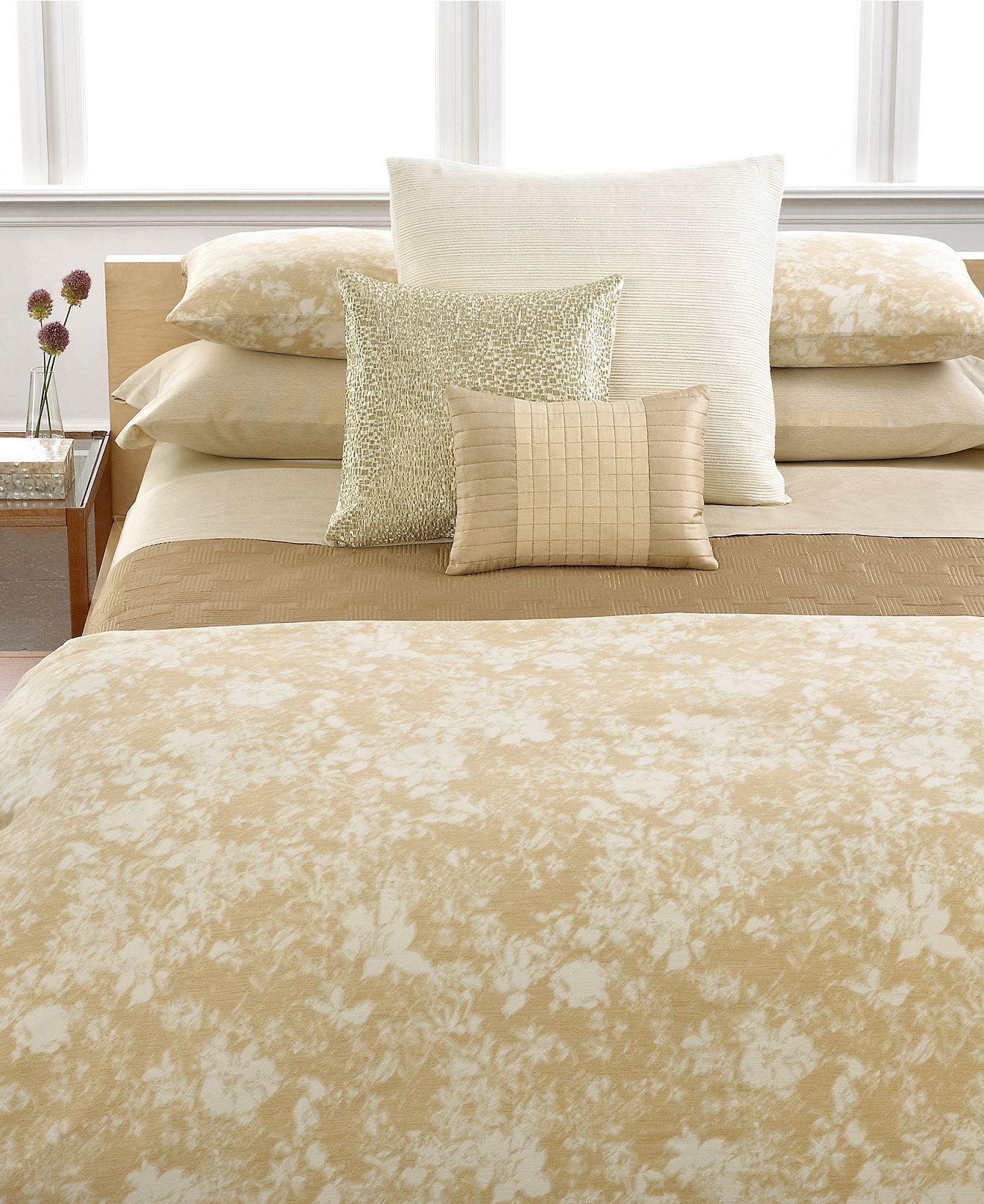 Calvin klein home bedding luminous collection bedding