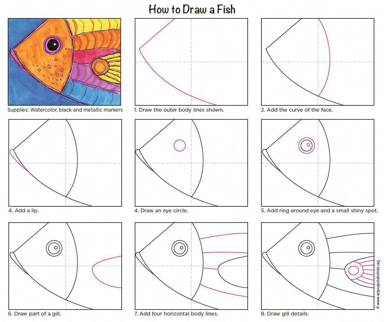 Step By Step Easy And Simple Art Video Lessons For