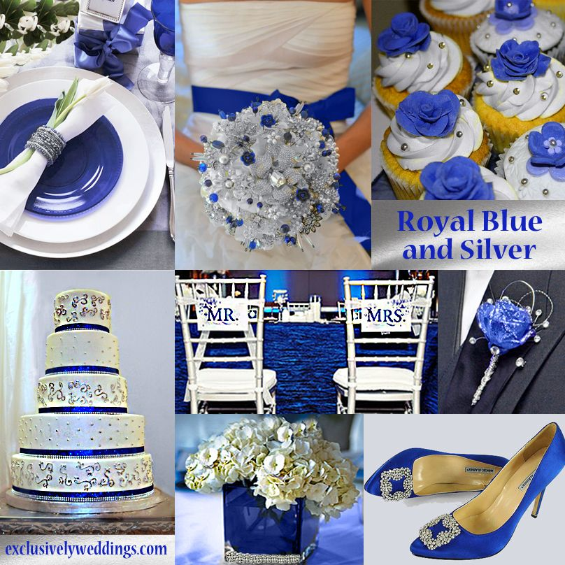 Blue wedding color five perfect combinations royal blue royals blue wedding color five perfect combinations exclusively weddings junglespirit Gallery