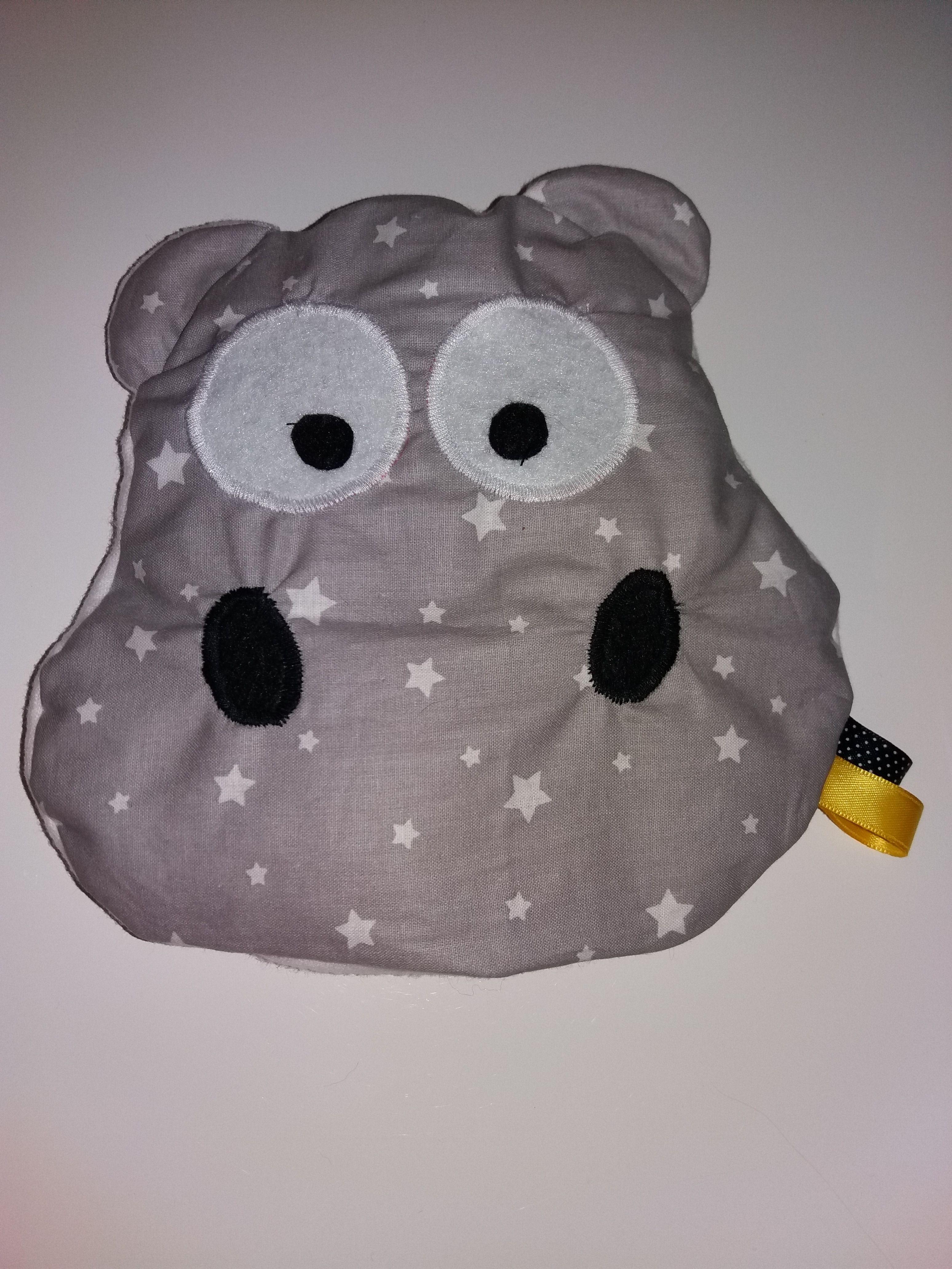 doudou hippopotame , patron pris sur image google