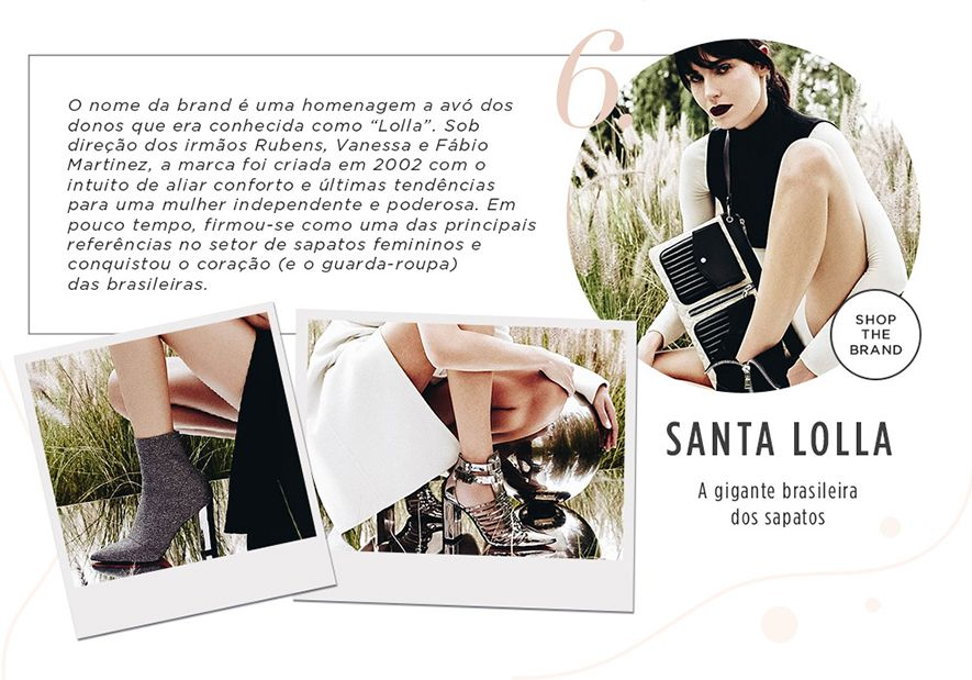 10 marcas paulistanas que você precisa conhecer: Santa Lolla
