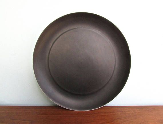 Rare Vintage Block Noche Dinner Plates 2 Available Espana Noche by Block Bidasoa Porcelain Matte Black/Gloss-White Porcelain 1969 Spain  sc 1 st  Pinterest & Rare: Vintage Block Noche 10.5\