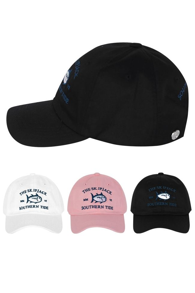 8ac5eaabedb Jack fish marked embroidery baseball caps for men and women.