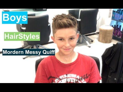 Best Modern Boys Hair Style Modern Messy Quiff This Video Is