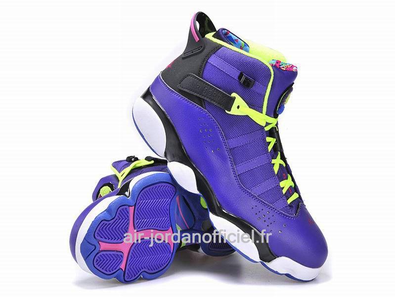 best sneakers 82bfd 4844b Jordan Six (6) Rings ´Bel Air´ 2013 - Chaussures Pour Homme  Violet Noir Pink 322992-515 jordanfrance888