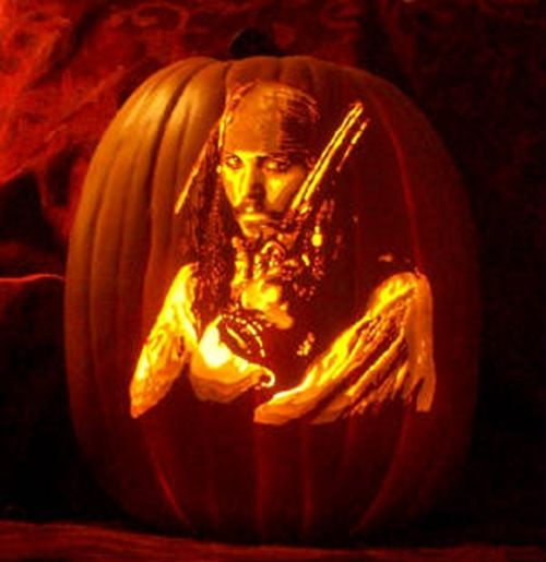 Jack O Lantern Westbury Gardens: 8 Stunning Captain Jack Sparrow Pumpkin Carvings
