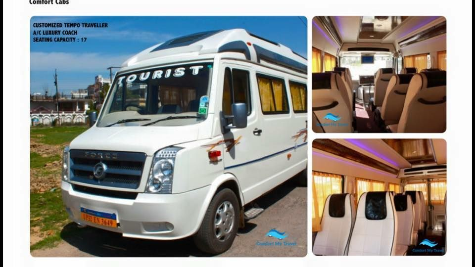 Hire Luxury Tempo Traveller in Lucknow Travel, Luxury