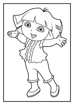 Dora Coloring Pages Diego Coloring Pages Dora Coloring Cartoon Coloring Pages Coloring Pages