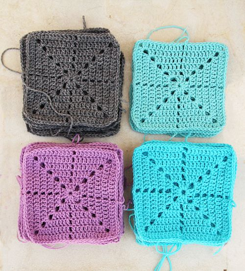 20 Easy Crochet Squares You Can Use To Make Blankets Pinterest
