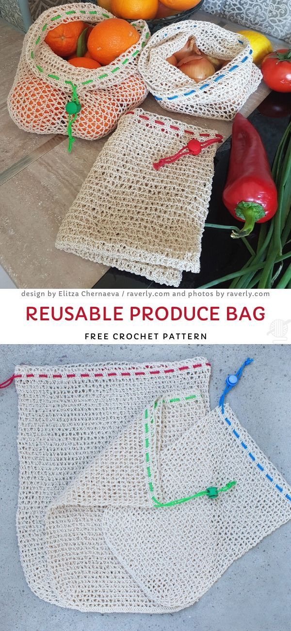 Les meilleurs sacs de marché au crochet   – Bags / Taschen