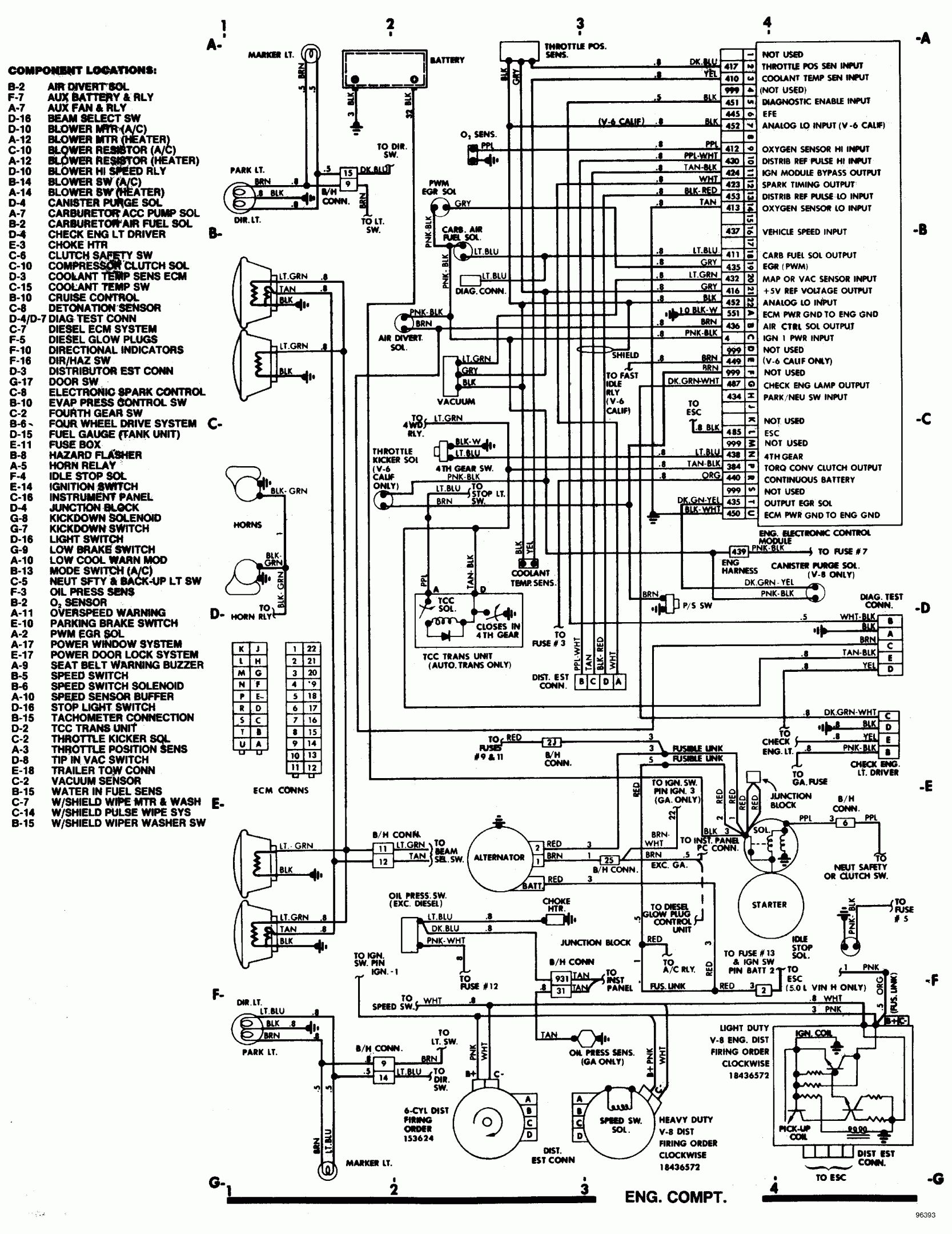 Wiring Diagram For Chevy Pickup With Deisel Engine