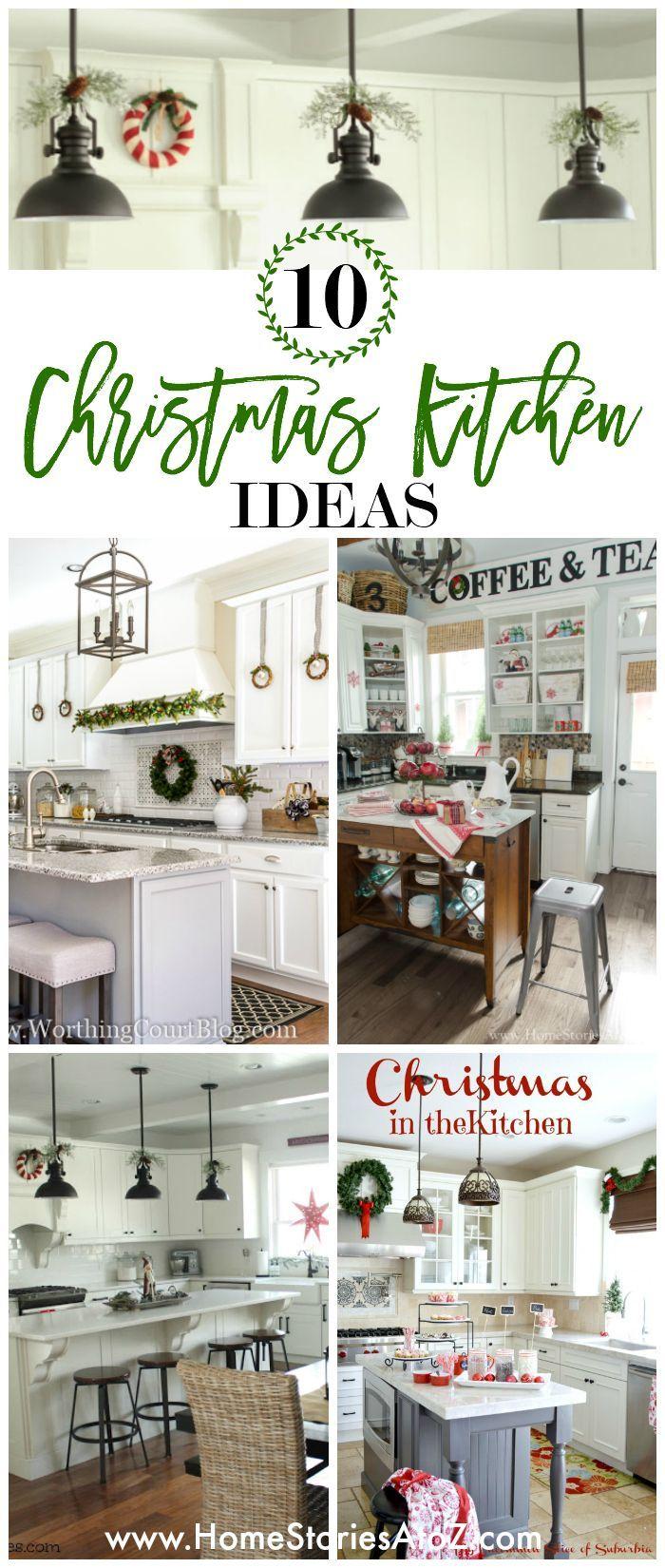 10 Festive Christmas Kitchen Ideas   Christmas kitchen, Christmas ...