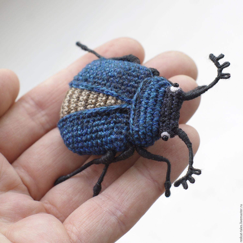 Схема жуки крючком