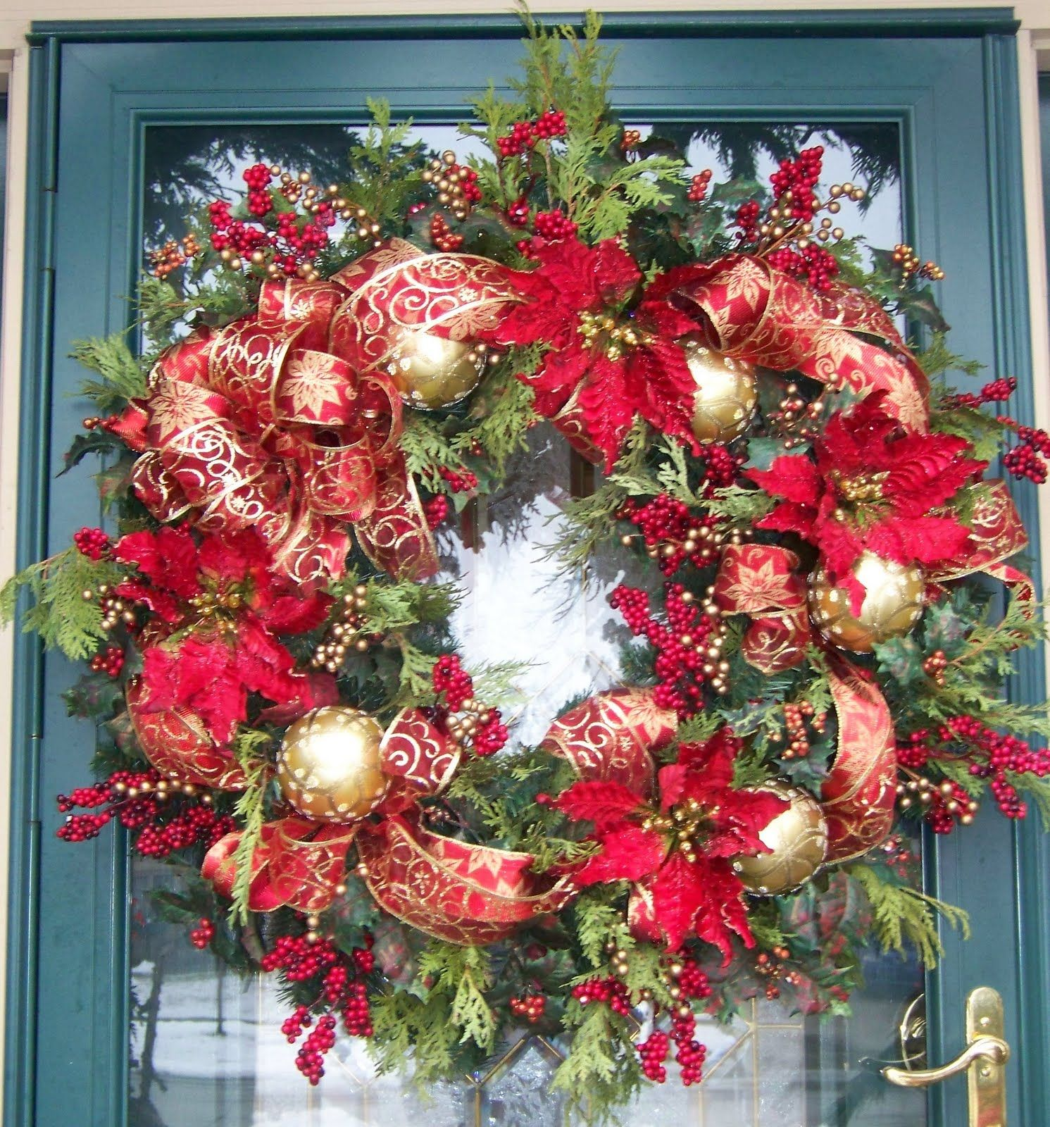 Creations From My Heart, Love How The Wreath Came Outusing
