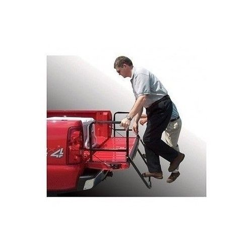 PICKUP TAILGATE STEP TRUCK LADDER ACCESSERIES BED EXTENDER ...