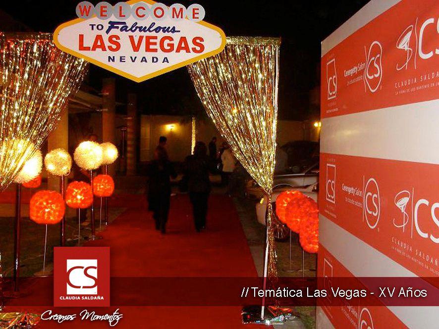 Las Vegas Decoraci N Tem Tica Decoraci Nes Tematicas