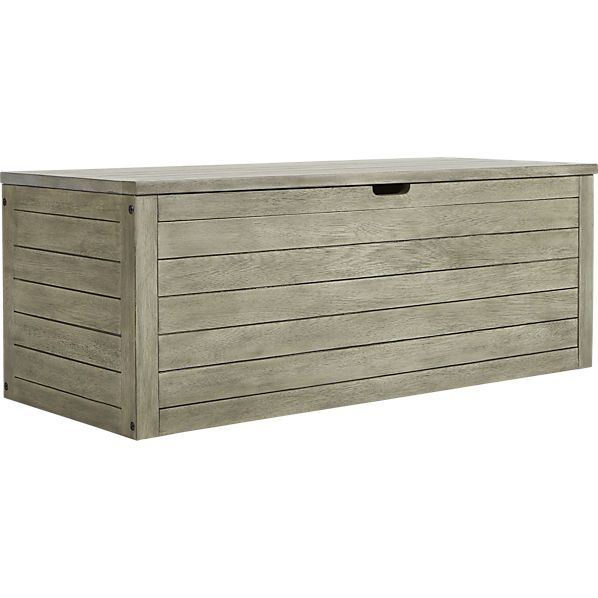 Bunker Storage Chest Bench For Outside