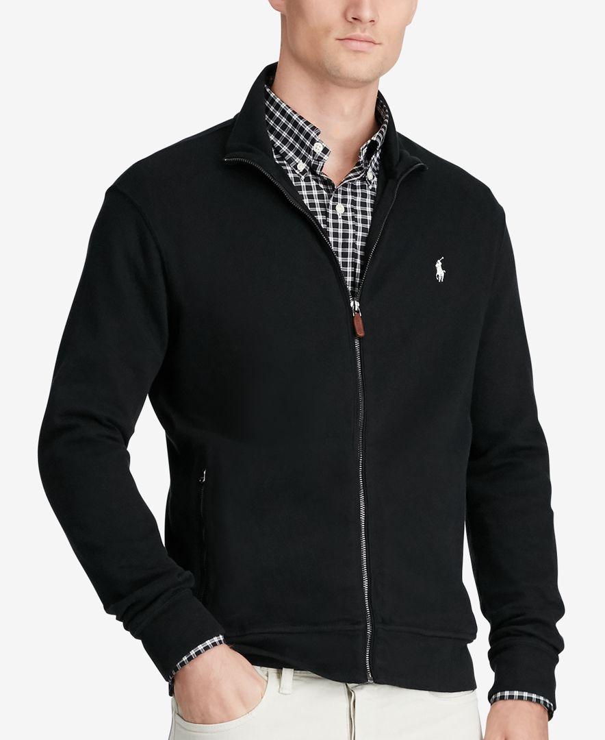 Polo Ralph Lauren Men S Full Zip Jacket Zip Jackets Tall Men Clothing Polo Ralph Lauren Mens [ 1080 x 884 Pixel ]