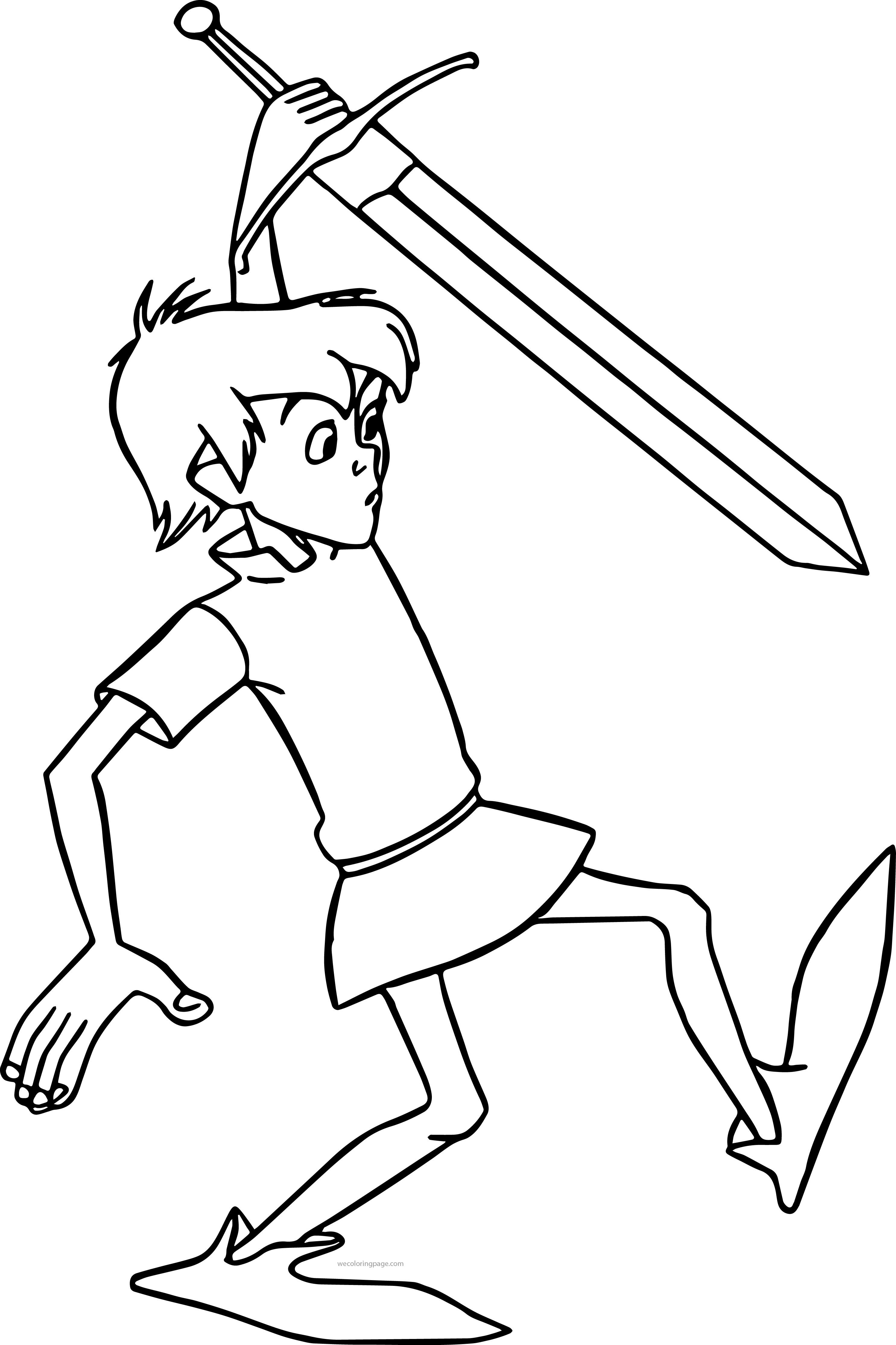 The Sword In The Stone Arthur Coloring Pages Coloring Pages Sword In The Stone Disney Coloring Pages