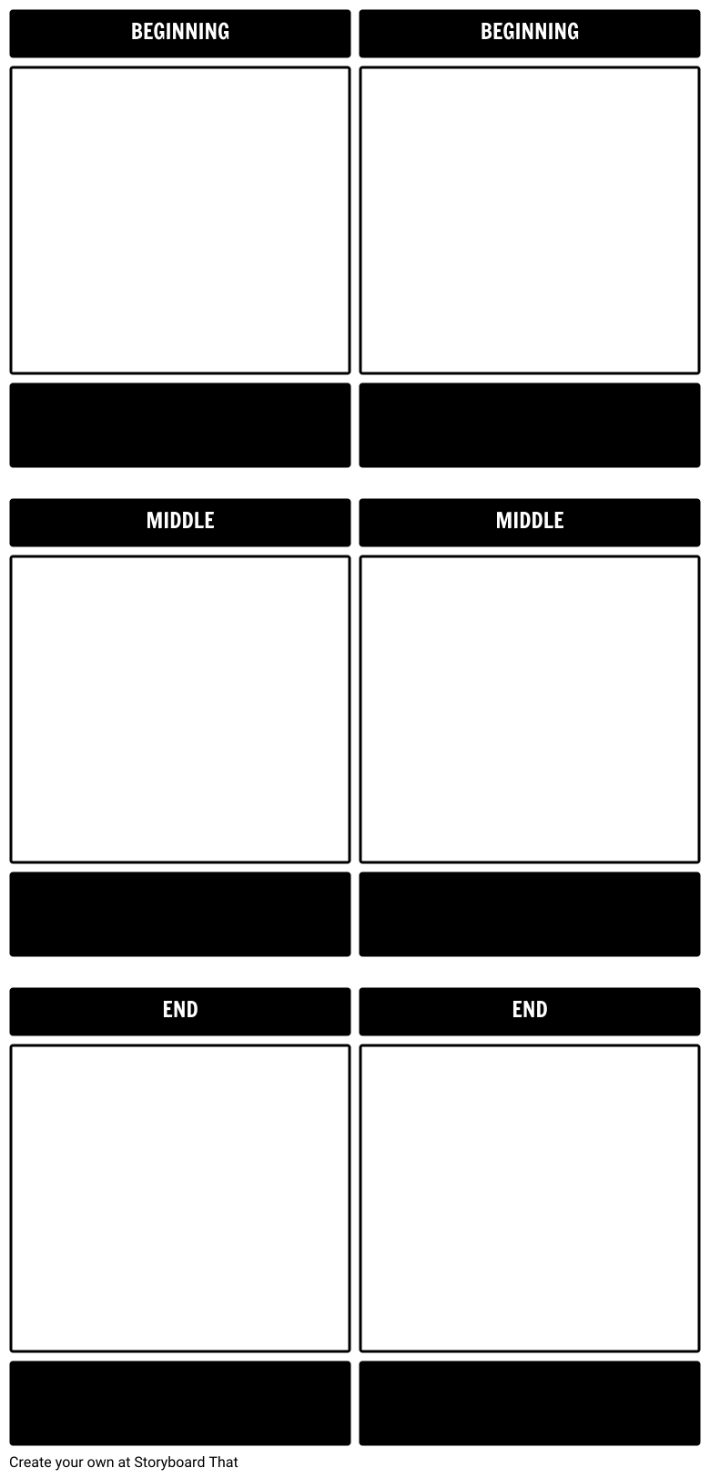 Create A Storyboard Template Or Graphic Organizer Template For Your