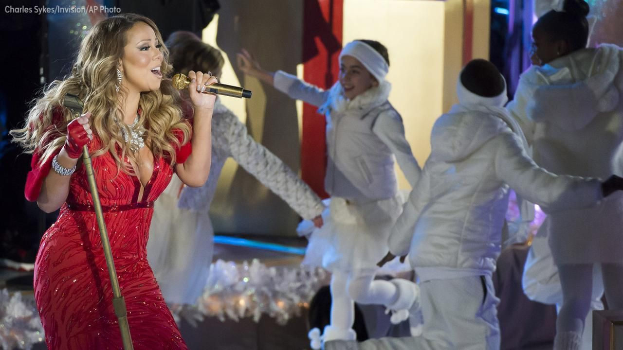 Mariah Carey is the queen of Christmas songs with her