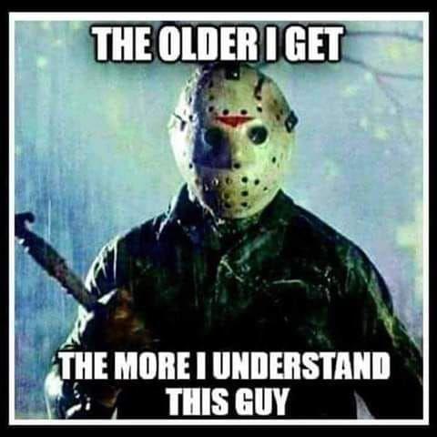 Jason Voorhees Horror Movies Funny Funny Horror Horror Movies Memes