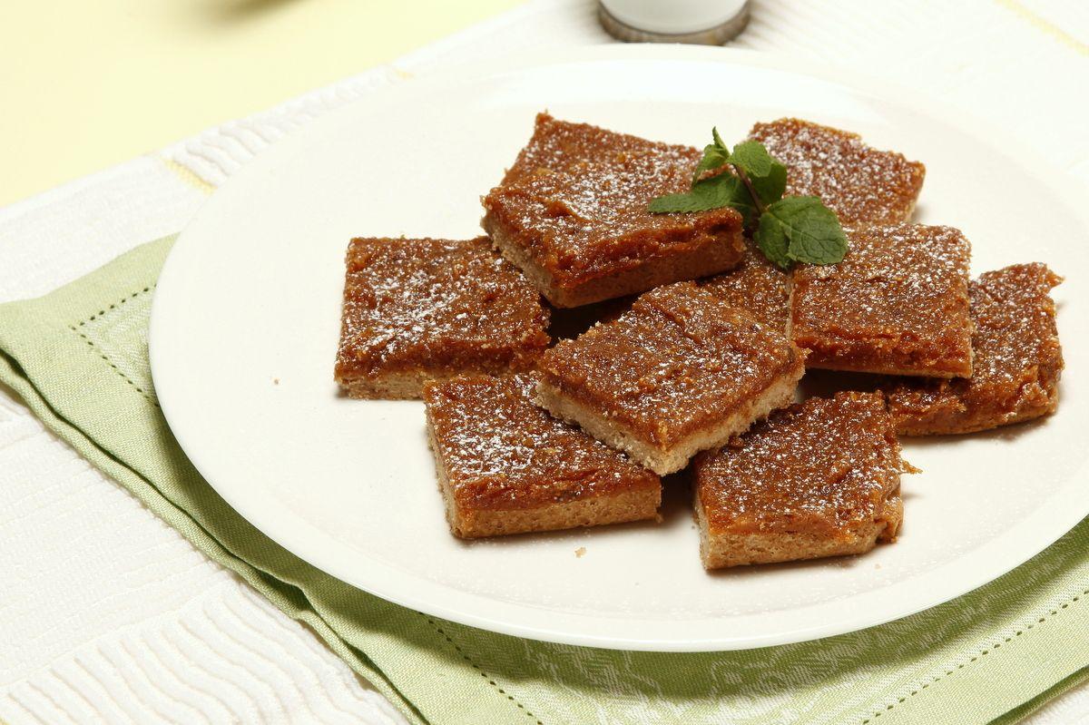 Receita de Quadrados de canela e figo. Descubra como cozinhar Quadrados de canela e figo de maneira prática e deliciosa com a Teleculinaria!