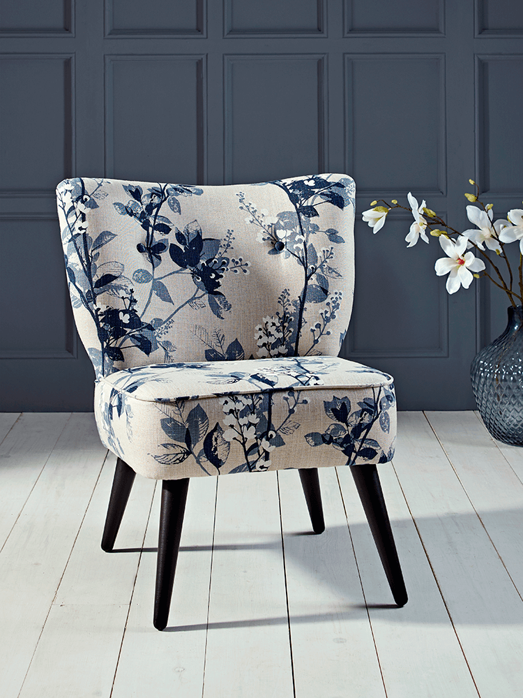 The Perfect Marriage Of Modern And Vintage Style Our Compact Accent Chair Is Hand Crafted Upholstered In Somerset With A Beech Birch Hardwood