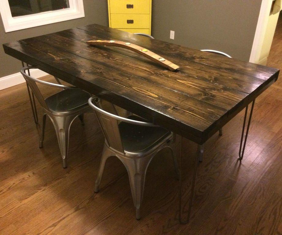 Wood Farmhouse Table Legs Pair FREE SHIPPING