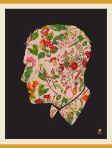 Image of Methane Floral Man, Domestica Print