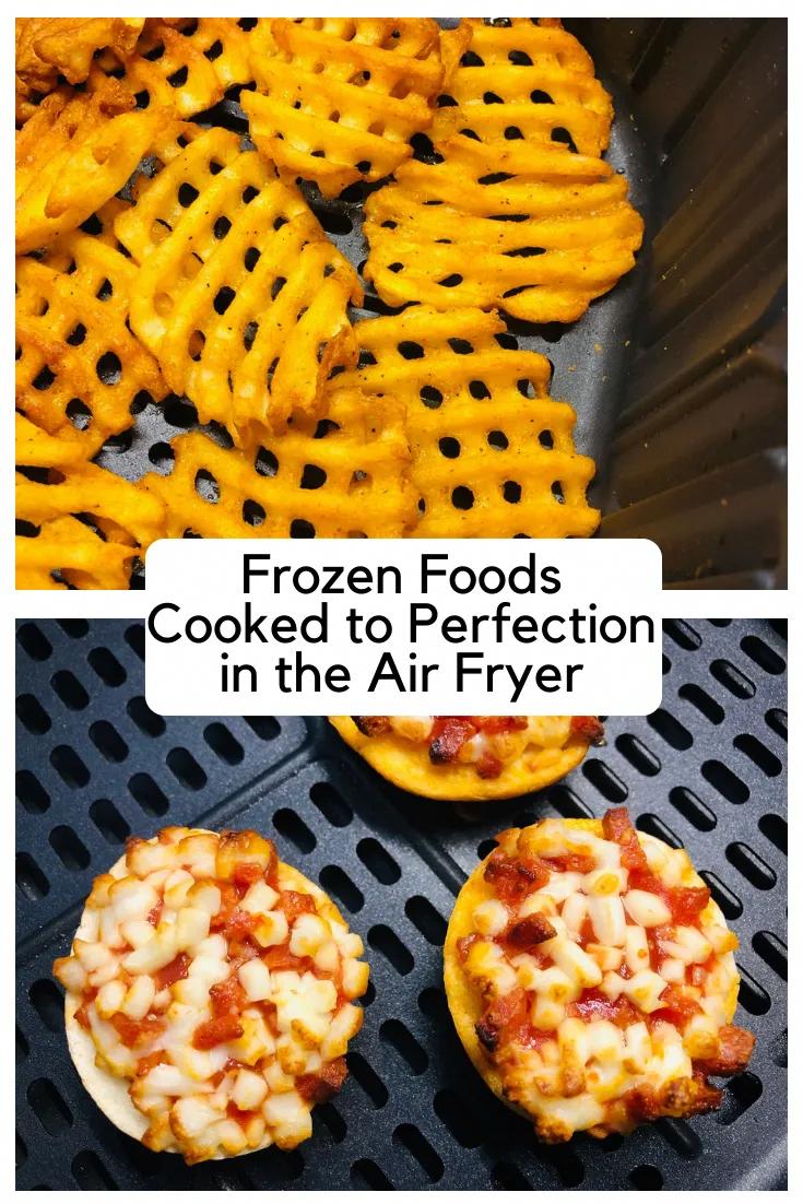 Photo of Gefrorene Lebensmittel perfekt in der Luft Friteuse gekocht – kocht gut mit anderen