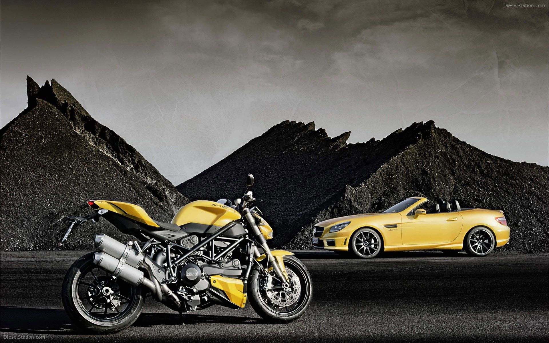 Ducati Street Fighter Mercedes Benz Hd Wallpapers In Hd Hd