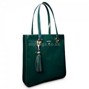BARADA Leather tote bag Jade green http://mybags.co.uk/barada-leather-tote-bag-jade-green.html