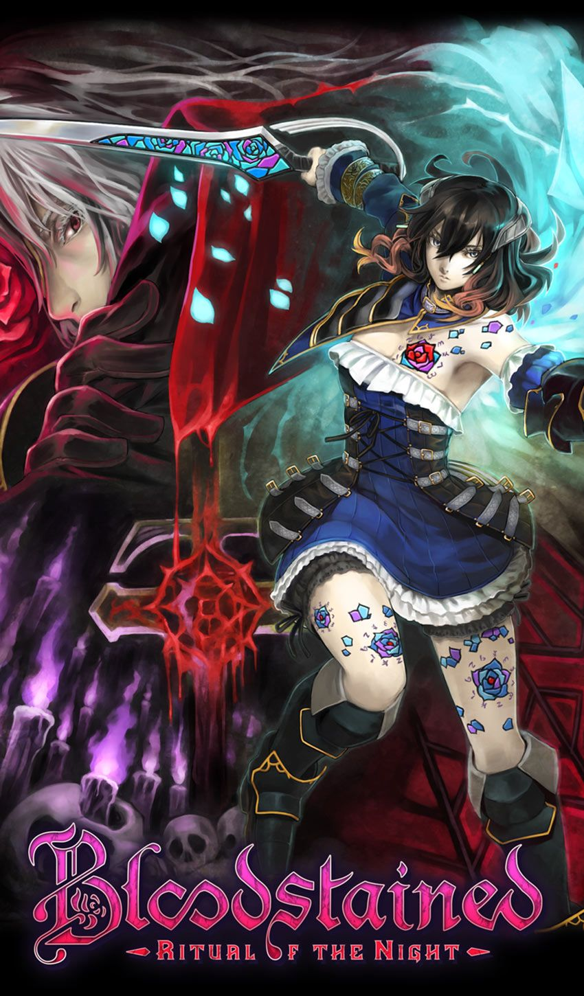 Key Art From Bloodstained Ritual Of The Night Art Illustration