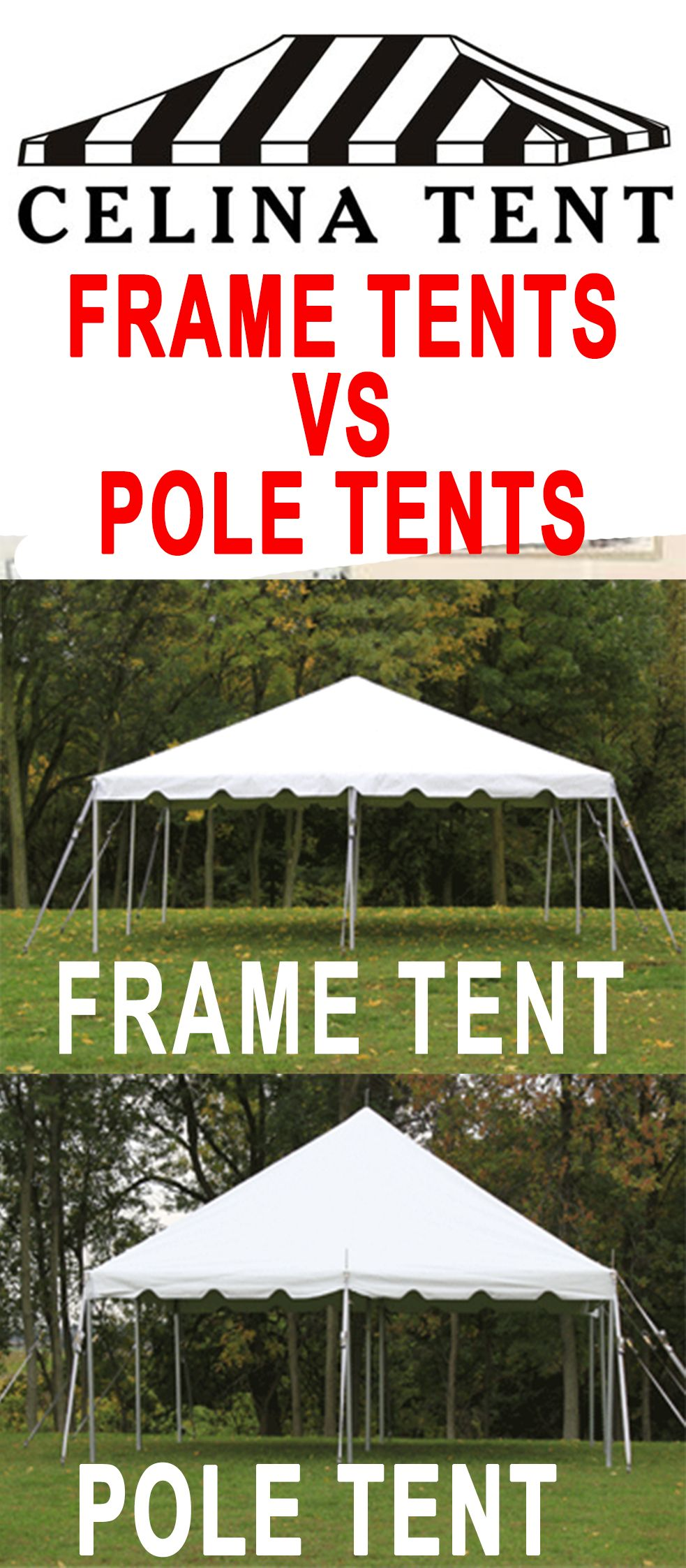 Celina Tent offers 6 different classes of #tents, #canopies ...