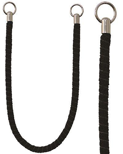 Jones Milan Rope Curtain Tieband, Black