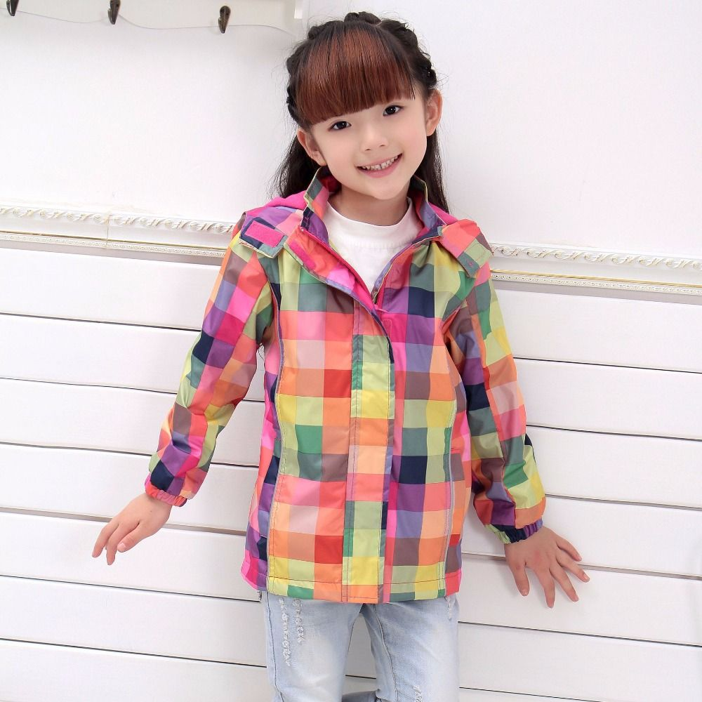 Children Outerwear Warm Coat Waterproof Windproof Baby Girls ...