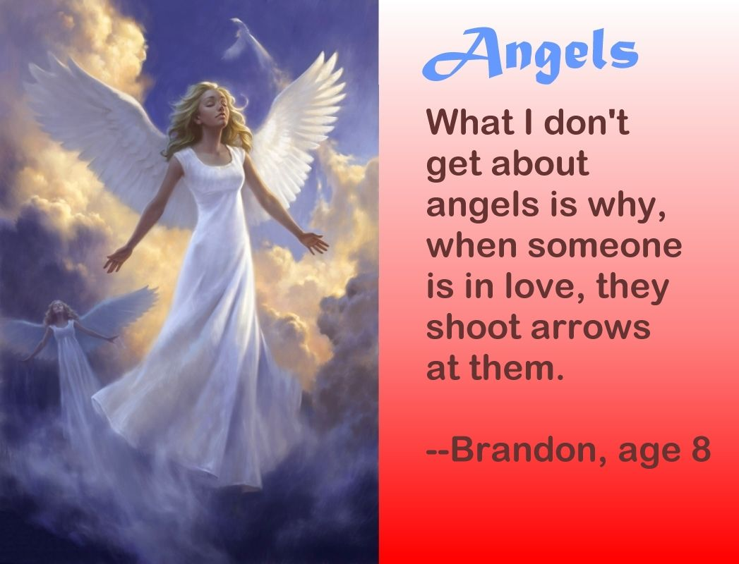 Funny Angel Quotes. QuotesGram