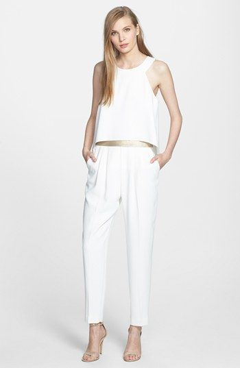 60747853b81 Trina Turk  Kaitlyn  Belted Crepe Jumpsuit available at  Nordstrom ...